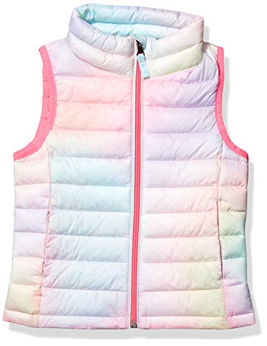 Amazon Essentials Hooded Puffer Jacket Down-Outerwear-Vests, Rosa Degradado, Large
