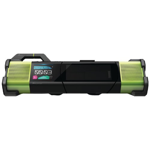 Pioneer STZ-D10T-G Steez Portable Music System für Apple iPod/iPhone Dock (Battle/DJ-Modus) (Ipod Portable Dock)
