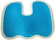 Gel Enhanced Seat Cushion Non-Slip Orthopedic Memory Foam Coccyx Cushion Tailbone Pain Office Chair Car Seat