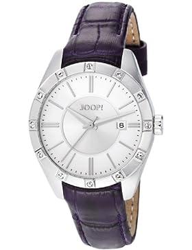 Joop Damen-Armbanduhr Emblem Analog Quarz Leder JP101022F04