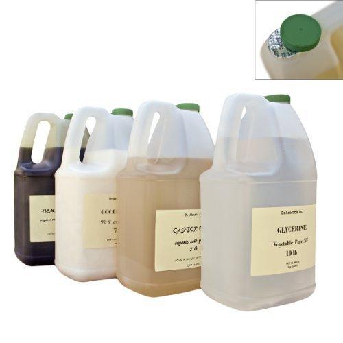 Shea Karite Oil Refined Pure Organic 128 Oz / 7 Lb / One Gallon