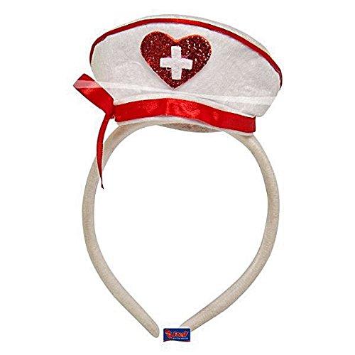 (Folat Krankenschwester Hat Tiara mit Schleife (One Size))