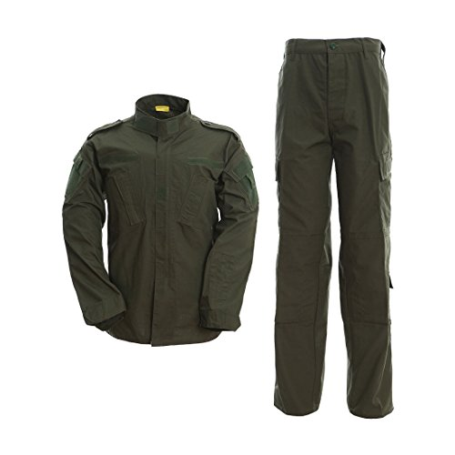 DRAGONPRO AU001 ACU Uniform Set Olive XS -