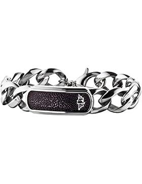 Police Armband für Herren Anvil PJ25696BSS-01-L