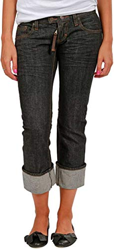 dsquared damen jeans Dsquared² Damen Jeans Cropped Leg , Farbe: Anthrazit, Größe: 32
