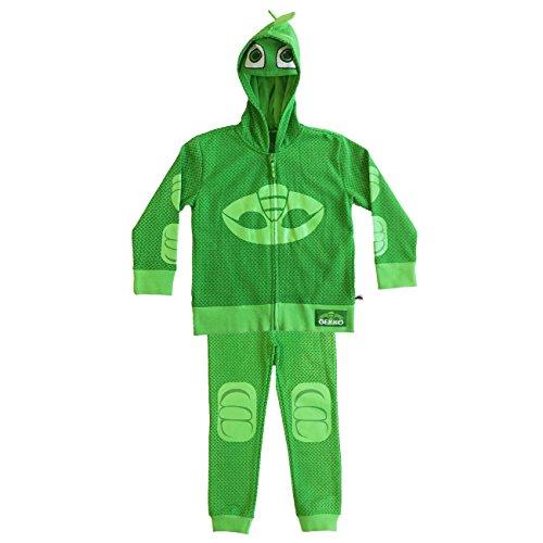 (PJ Masks Gekko Boy's Toddler Hoodie and Pants Set (5/6T))