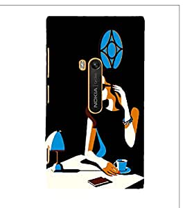 Fuson Designer Back Case Cover for Nokia Lumia 920 :: Micosoft Lumia 920 ( Abstact Art Paint Painting Illustrations )