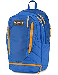 JanSport Trans 50,8 cm Kondensator Rucksack Laptop Schule Tasche, Blue Streak orange