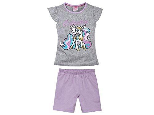 Kleinkinder Mädchen Schlafanzug Shorty Set Short T Shirt mit Motiv (110/116, My Little Pony)