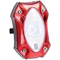 Luz trasera para bicileta Broadroot, 3W, batería USB recargable, resistente al agua