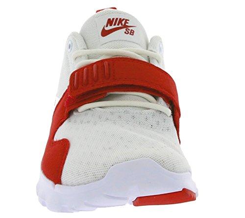 Nike Herren Trainerendor Turnschuhe Weiß (Weiß (Weiß/Obsidian-University Red))