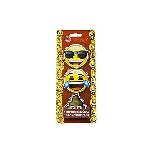 UNDERCOVER Haftnotiz Würfel Emoji EMTU0770, Smiley + Kackhaufen sortiert