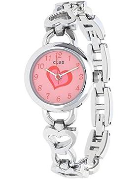 Club A56509S14A–Uhr, Edelstahl-Armband Silber