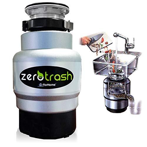 TritaRifiuti Dissipatore ZeroTrash ForHome® Vertikutiergerät für Haus Sotto Spülbecken - Mod. 600HS - 3/4HP