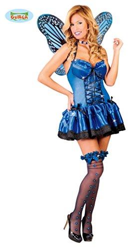 sexy blauer Schmetterling - Kostüm für Damen Gr. M, Größe:M
