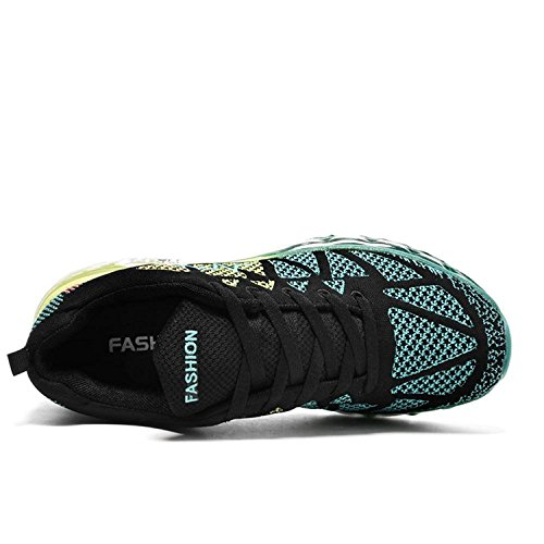 Corsa Sportive Nero T Donna blu da Uomo Scarpe Scarpe Gold Ginnastica Fitness Sneakers da Running 6wOqyrz84q