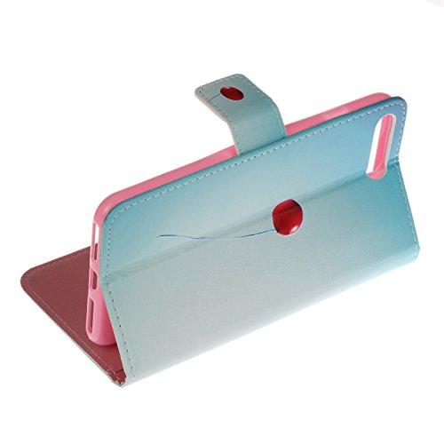 Voguecase Pour Apple iPhone 7 Plus 5,5 Coque, Étui en cuir synthétique chic avec fonction support pratique pour iPhone 7 Plus 5,5 (Love plume 01)de Gratuit stylet l'écran aléatoire universelle Ballon rouge