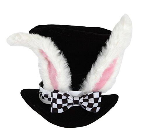 Elope Alice im Wunderland Weißes Kaninchen Zylinder Kostüm-Hut für Erwachsene