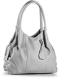 Fostelo Women's Jane Shoulder Bag (Grey) (FSB-946)