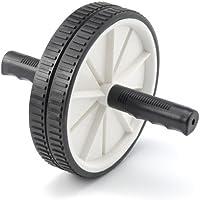 Preisvergleich für Focus Fitness Unisex Adult Wheel Bauchmuskeltrainer/Bauchtrainer Bauchroller - Ab Roller - Schwarz - Kunststoff - 26 x 18,5 x 18,5 cm, 20 x 20 x 20 cm