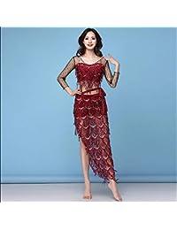 9e0fc26df4d9 BT-GIRL Robe Danse Ventre Femme Danse Orientale Costume Classique Belly  Dance Tunique Danse Indienne