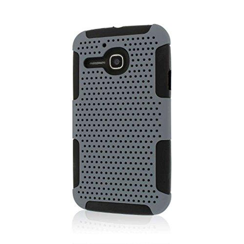 MPERO Fusion M Series Schutz Case Tasche Hülle for Alcatel ONETOUCH Evolve 5020T - Grau