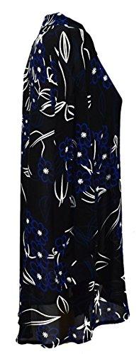 Bella Blue Damen Kleid schwarz schwarz Schwarz / Blau