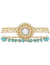 Hipanema Women Stainless Steel Cuff Bracelet - E18SMAGIBLK