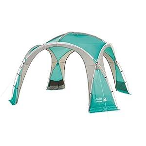 Coleman Event Dome Pavillon, stabiles Partyzelt mit Stahlgestänge, Gazebo, Eventzelt, Sonnenschutz SPF 50+