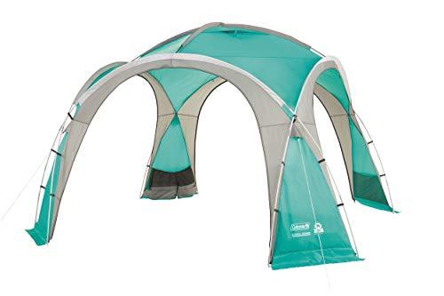 Coleman Event Dome Pavillon, 3,6 x 3,6 m, stabiles Partyzelt mit Stahlgestänge, Gazebo, Eventzelt, Sonnenschutz SPF 50+, XL