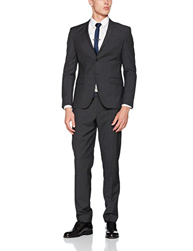 s.Oliver BLACK LABEL Herren Anzug Grau (Anthracite Grey 98W1)