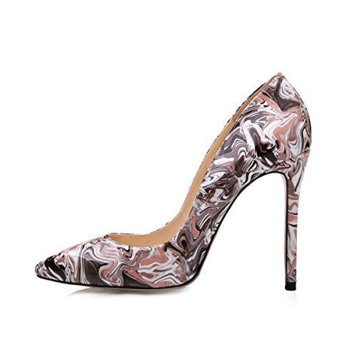 Arc-en-ciel womenâ s Schuhe spitzen Zehepumpen Braun
