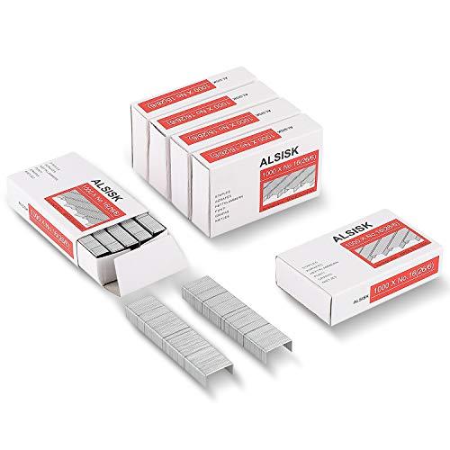 ALSISK 26/6 Standard Staples,100...