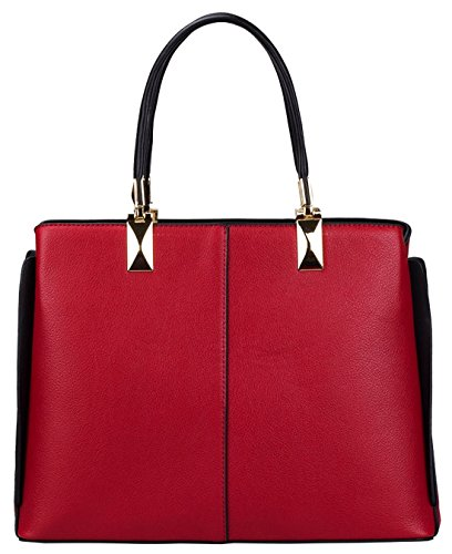 Kukubird Spencer Semi Simili-cuir Acculé Wing Design Sac À Bandoulière Fuchsia
