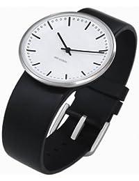 Rosendahl Unisex-Armbanduhr Analog Edelstahl weiss 43451