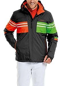 Maier sports veste de ski pour homme taurus matelassé XS Noir - noir