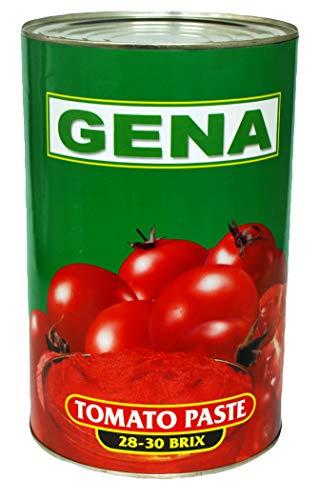 Würz-Fleisch Tomatenmark 2fach konzentriert 5/1 Dose 4250ml beste Restaurantqualität, Tomatenpüree Gastronomiequalität 4,25Kg - WF-KOGM063