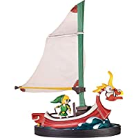 First 4 Figures The Legend of Zelda The Wind Waker Link & King of Red Lions Statue