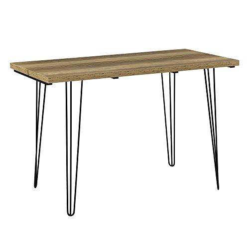 [en.casa]®] Mesa de Comedor Estilo Elegante - con Capacidad para 4 Personas - Apariencia de Madera - 120cm x 60cm x 77cm