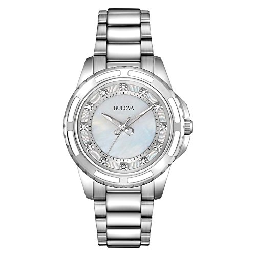 4 - Damen Designer-Armbanduhr - Armband aus Edelstahl ()