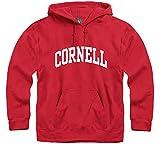 Ivysport Cornell University Sudadera con Capucha de algodón con Bolsillo Frontal con Sudadera Oficial clásica con Capucha - 130-XL, XL, Rojo