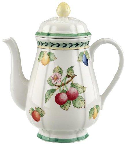 Villeroy & Boch 10-2281-0100 French Garden Fleurence Kaffeekanne, Porzellan