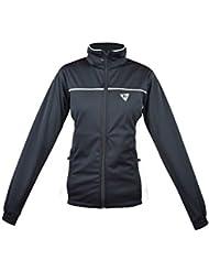Golf chaqueta NEGRO-BLANCO (M)