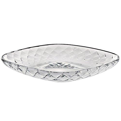 Assiette en verre, Assiette décorative, Salade plate, Panier à fruit, Collection \