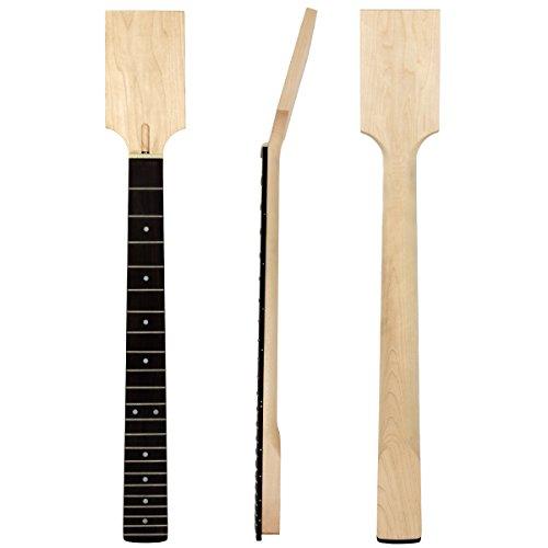 Kmise Touche frette pour manche de guitare électrique non finie, Pièces de rechange, en érable, 22 frettes