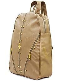 VIVARS Studded Casual Fashion Leather Shoulder Bag Backpack for Women Chest  Bag Pack 4623c43f6650c