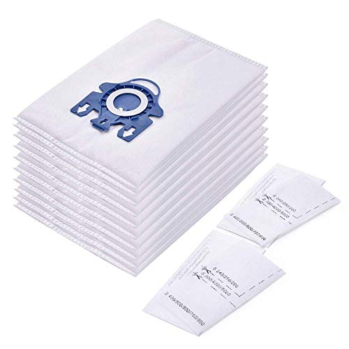 2 Filter Filtertüten Staubbeutel 10 Staubsaugerbeutel für Miele S 5000