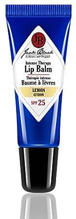JACK BLACK Baume à Lèvres Thérapie Intense FPS 25 Citron, 7 g