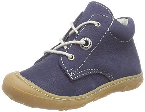 RICOSTA Pepino Unisex - Kinder Stiefel Cory, WMS: Mittel, Kinder-Schuhe Klett-Schuhe toben Spielen Freizeit leger Boots Leder,See,19 EU / 3 UK