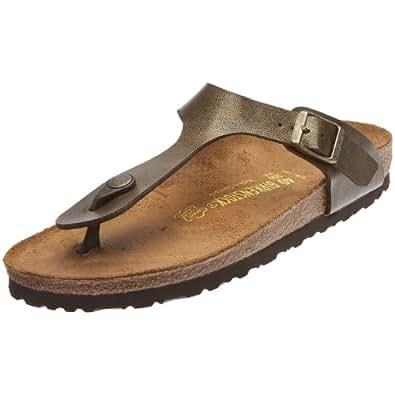 Birkenstock Gizeh, Women's Sandals, Gold Brown, 3 UK (36 EU)